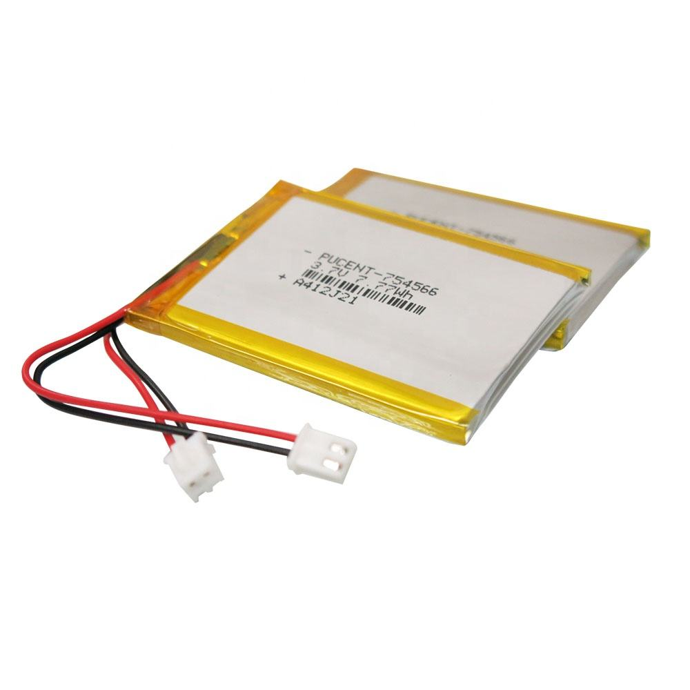 Rechargeable lithium polymer cell lipo batteries 3.7V 2100mah li-Ion battery for sale