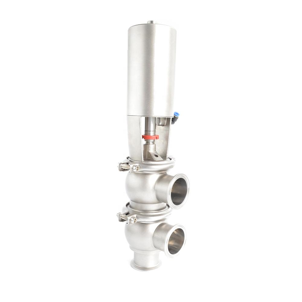 CHYNATECH Intelligent Sanitary Stainless Steel 4 way reversing valve