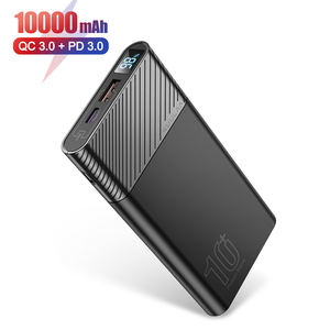 2020 OEM custom ce rohs slim portable 18W PD QC 3.0 fast charging mobile charger 10000mAh power banks smart powerbank power bank