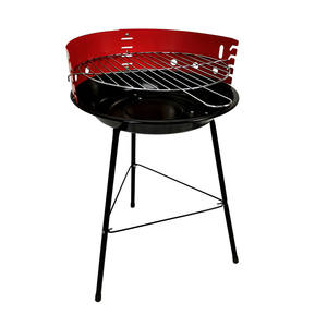 14Inch Simple Round Bbq Balcony New Mini Charcoal clay bbq grill set
