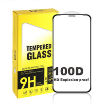 100D Screen Protector for iPhone 5.8'' 6.1'' 6.5'' Matte AG Glass Mobile Phone Protect Film