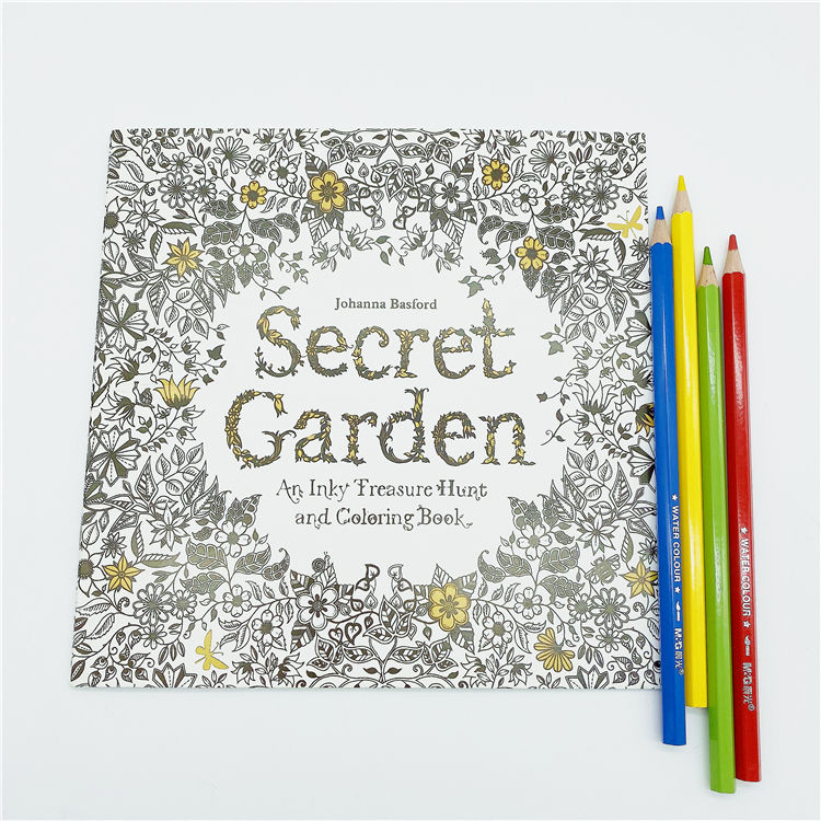 Promotional kids Painting Colouring Book custom colouring book for kids