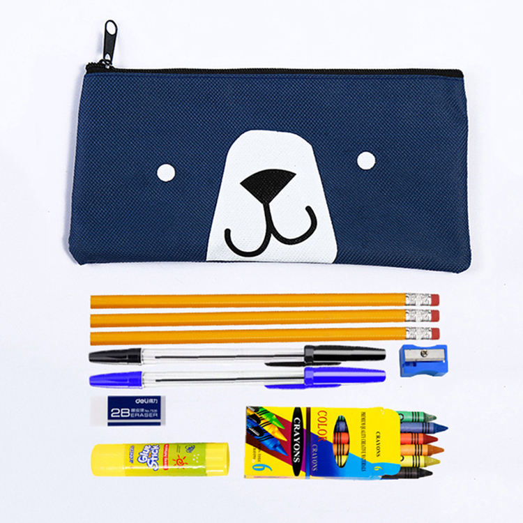 Back to School Kit Essentials School Supplies Kit,High Quality Stationery set,cheap stationery kits for kids pre-shcool supplies