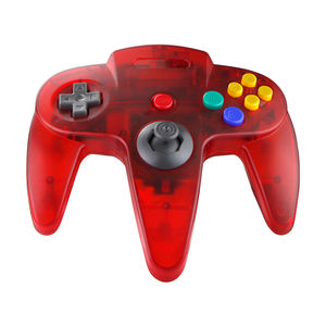 עבור N64 בקר wired gamepad משחק joypads עבור Nintendo N 64 מארח ג 'ויסטיקים