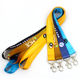 Wholesale custom personalized polyester keychain lanyard with logo custom