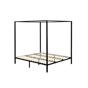 Modern Gold Metal Canopy Queen Size Bed Frame Australia