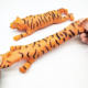H465 Promotional Anti-stress TPR Material Animal Tiger Stretchy Sand Toys for Kids