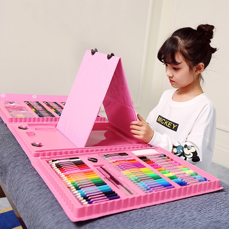 Wholesale 176 Pcs kids painting Set For children