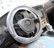 Wholesale disposable steering wheel covers plastic material car seat cover
