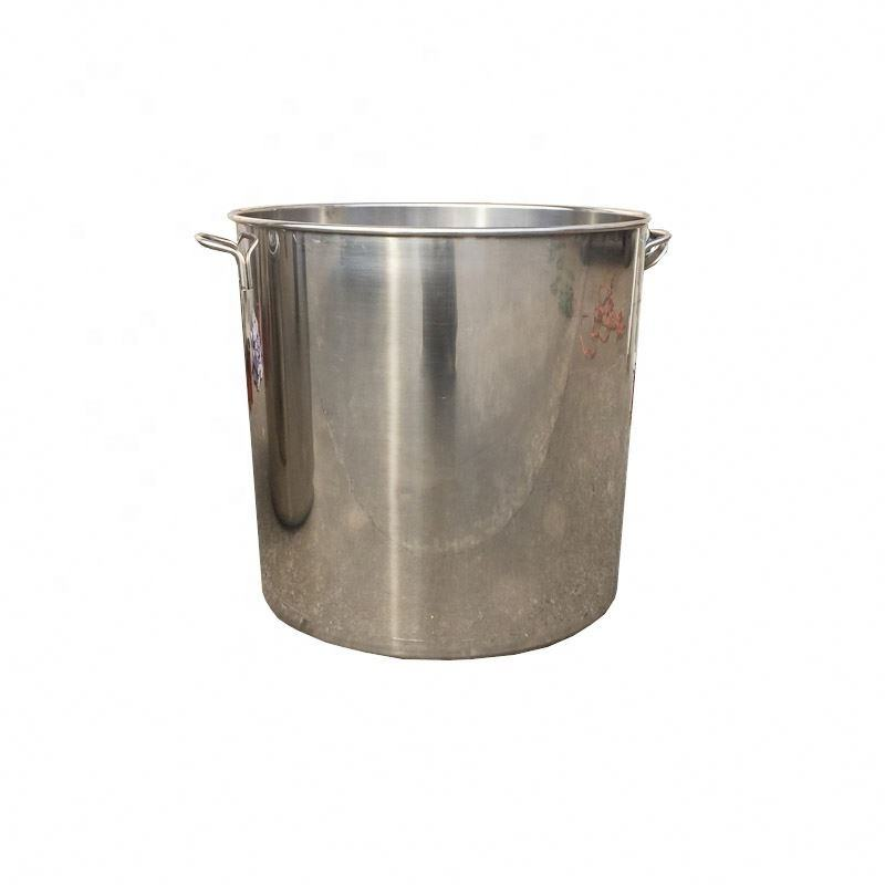 Tall Straight-shaped Non-magnetic stainless steel stockpot/commercial stock pot/soup bucket