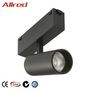 DC24V Commercial Lighting Adjustable Beam Angle 10W Indoor Aluminum COB LED Track Light Spotlight