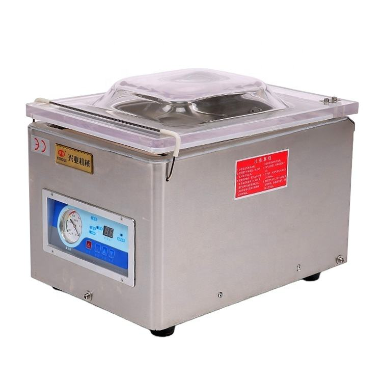 DUOQI DZ-260 automatic commercial packing sealer single chamber vacuum packaging machine for packer