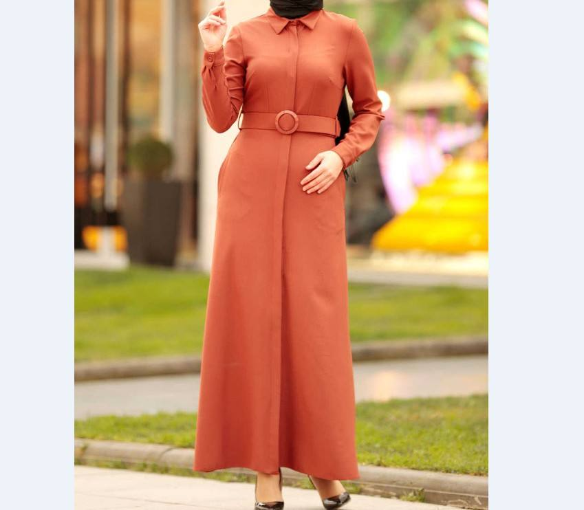 2020 OEM flare sleeve abaya turkey women-clothing-abaya girls abaya trendy modern islamic clothing
