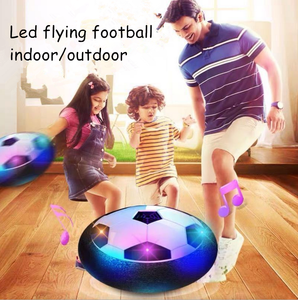 LED blinkt indoor/outdoor hover fußball ball air float disc fußball set für kinder