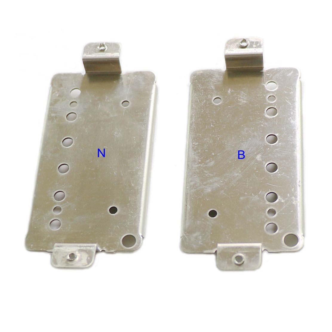 Nickel Silver 3/48 US standard humbucker guitar pickup baseplate with 50/52mm string spacing for wholesale