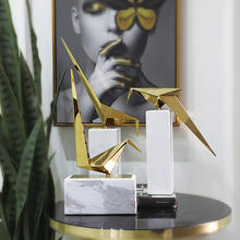 Home decoration european style home decor pieces in brass desk accessories