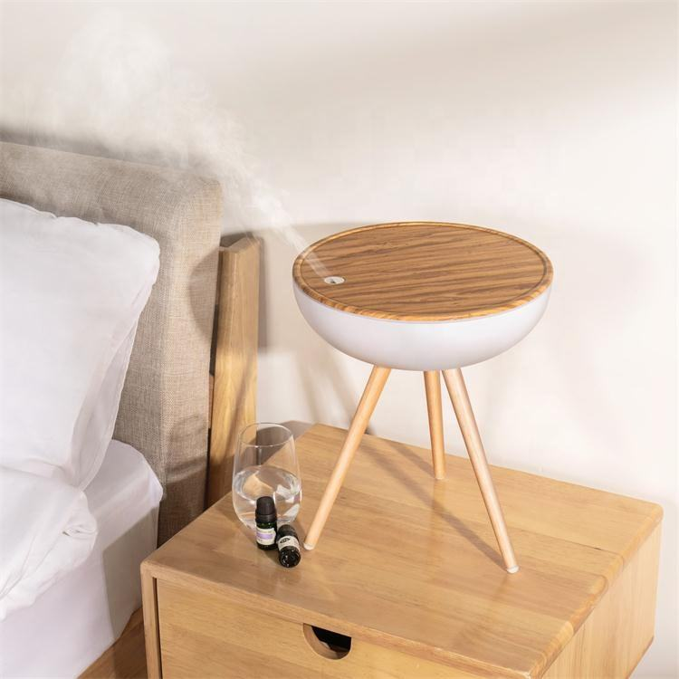 2020 Home Appliances 1000ml Large Capacity Wood Grain Cool Mist Aroma Diffuser Ultrasonic Air Humidifier