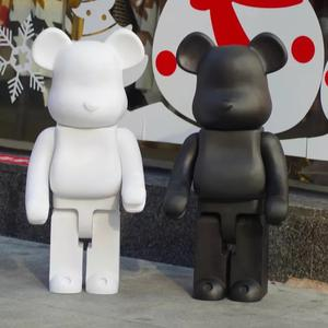 DROP Shipping Custom OEM ODM1000 % 70 Cm Bearbrick Vinyl Mainan Plastik Custom Made Action Figure