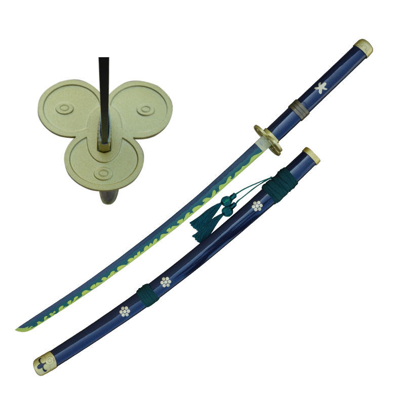 Latest Version Carbon Steel Samurai Sword One Piece Roronoa Zoro Yamato Anime Sword for Cosplay