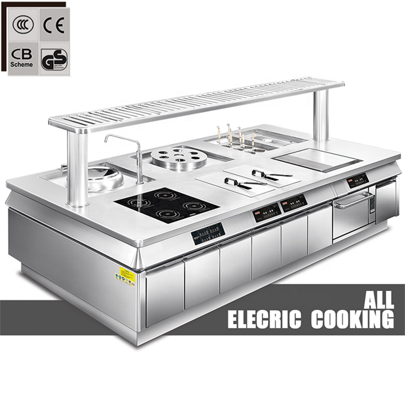 All Electric Cooking Other Hotel & Restaurant Supplies List Stainless Steel Commercial Restaurant Equipment Kitchen