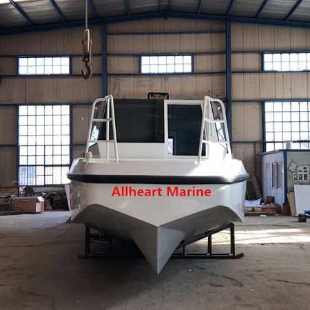 Aluminum Speed Travel 14.5m/46ft 28 Passenger Ferry Boat with Luxury Decoration from Allheart