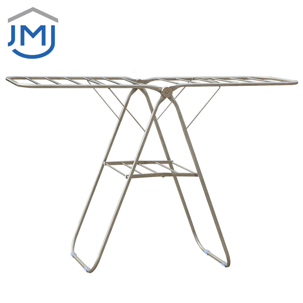 2021 Indoor Expandable Cloth Stand Laundry Hanger Fast Delivery Clothes Dry Rack