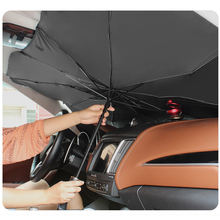 Car Parking Sun Parasol Block Cover Silver Coated Vinyl Auto Sunshield Cover Protector Car Window Umbrella Shade