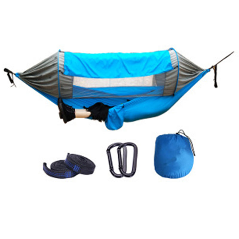 China Factory Lightweight Easy To Installation Outdoor Aerial Hammocks Used For Travel