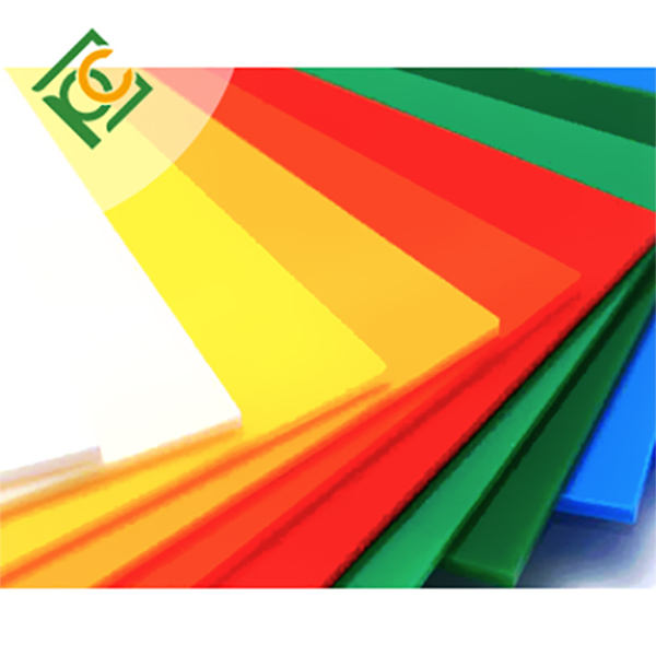 60 x 60 colored high impact 3 mm safety board acrilico sheet for sneeze guard