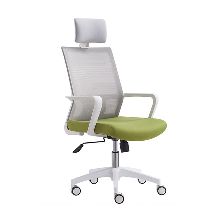 Guangzhou furniture manufacturers fabric chairs modern seat cushion mesh office chair