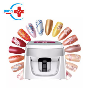HC-N023 Cheapest 3D smart nail machine/automatic intelligent nail printer/nail painting printer can connect mobile phone