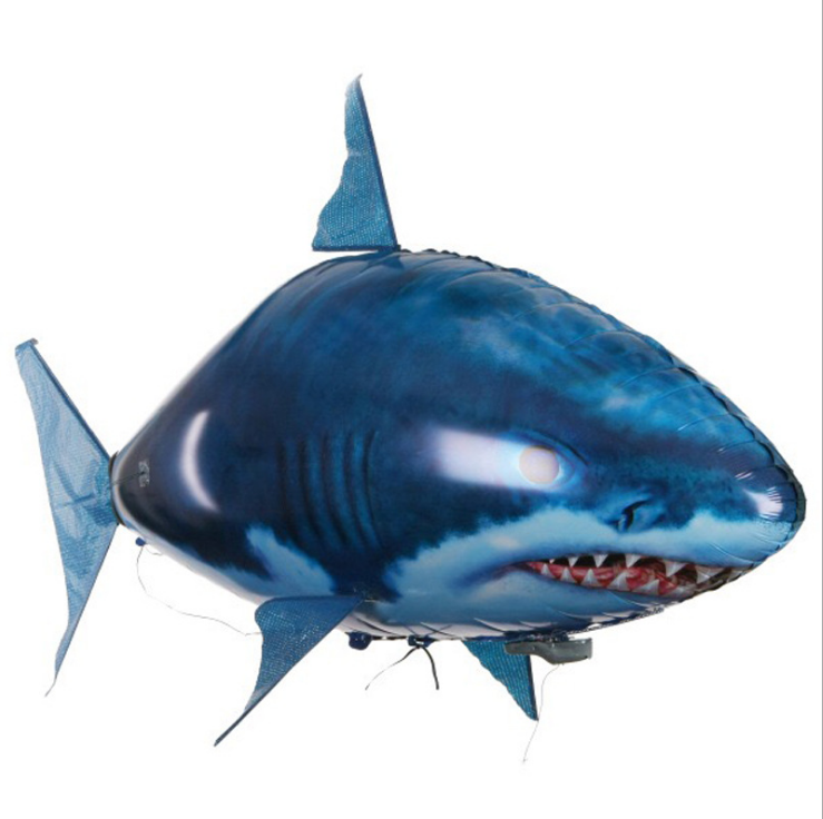 A Really BIG RC Air Swimmer Remote Controlled Flying Shark remote Control Shark Toys for Kids or people