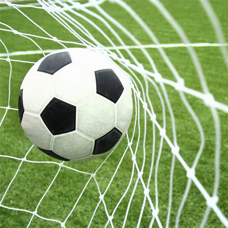 11 players wholesale football goal nets high quality pp material PE soccer netting for sale cheap price