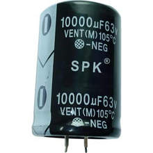 Snap In Terminal Aluminum Electrolytic Capacitor