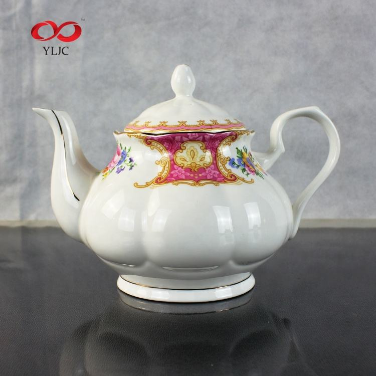 Top Selling Product Britse Tangshan Porselein Bone China <span class=keywords><strong>Thee</strong></span> Set Engels Koffie Set
