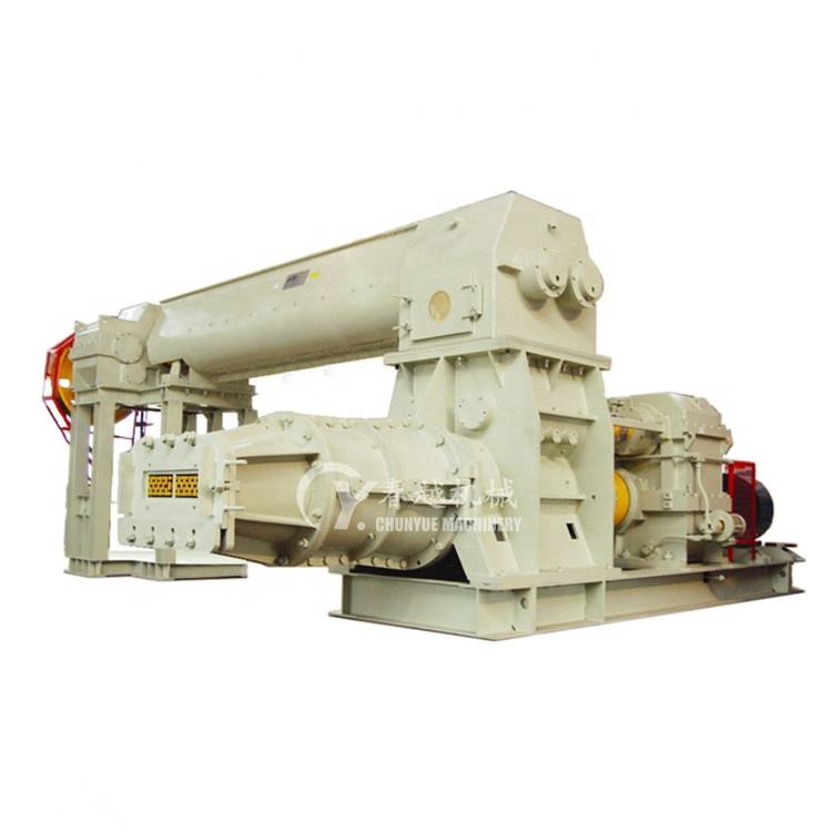 2019 brick extruder vacuum extruder for clay brick making