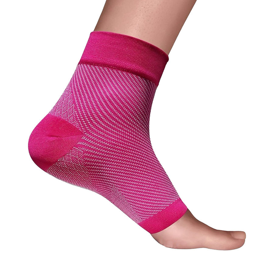 Hot Selling Flexible Adjustable Lightweight Nylon Ankle Brace Sock for Wholesales