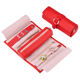 oem jewellery organiser roll foldable jewelry , large jewelry rolls ,fring rolls jewelry box