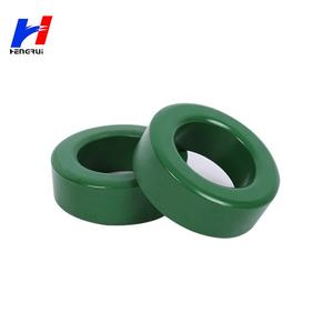 Wholesale T10 T12 T14 Power Transformer Ferrite Toroid Core green and black coated