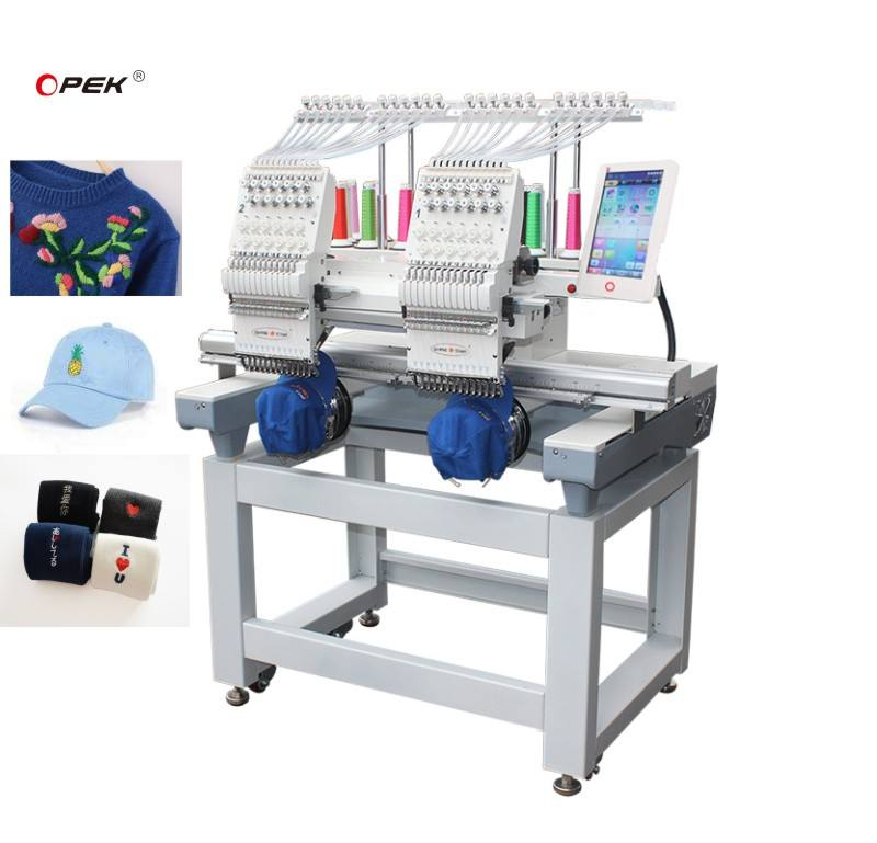 2Head Embroidery Machine Price List