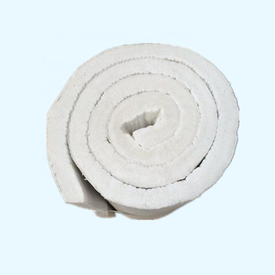 Factory Price 1260 Degree Refractory Alumina Silicate Needle Ceramic Fiber Insulation Blanket