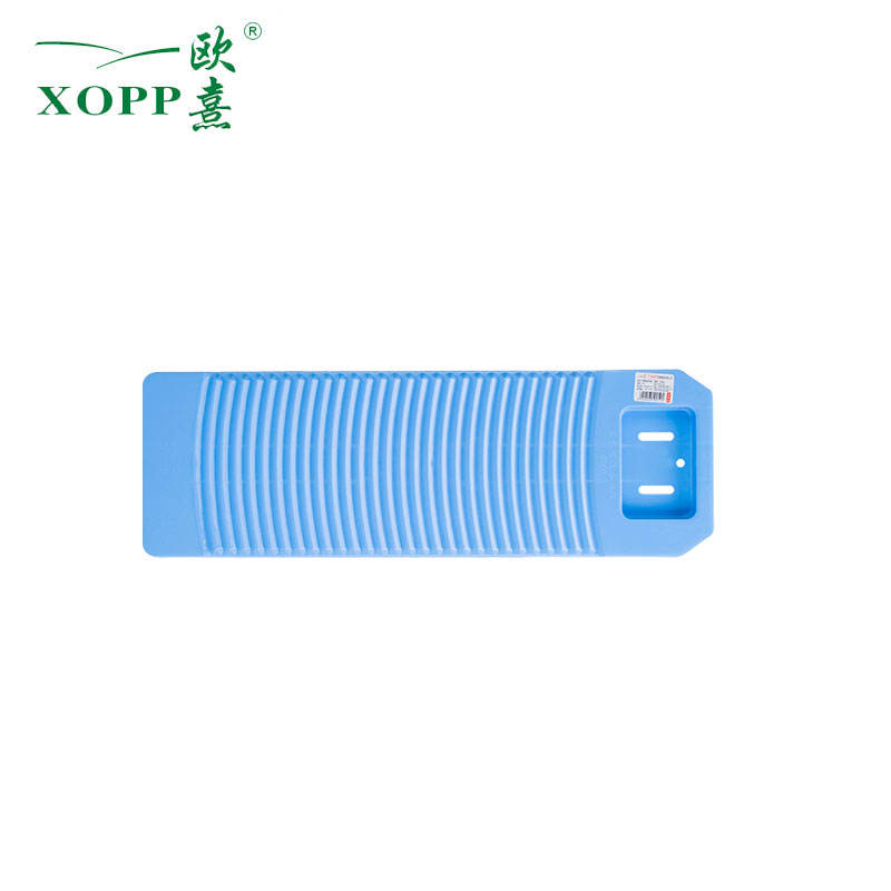 Safe Plastic Anti-Skid Washboard Washing Clothes Simple Clean Scrubboard Tool