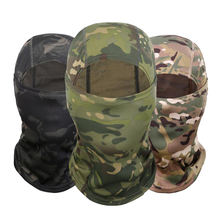 New Amazon Popular Camouflage Balaclava Face Mask Motorcycle Mask Windproof Camouflage Fishing Face Cover