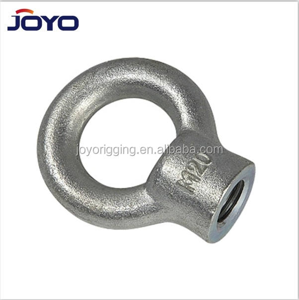 China manufacturer Rigging Hardware drop forged JIS B 1169 Steel lifting eye nut