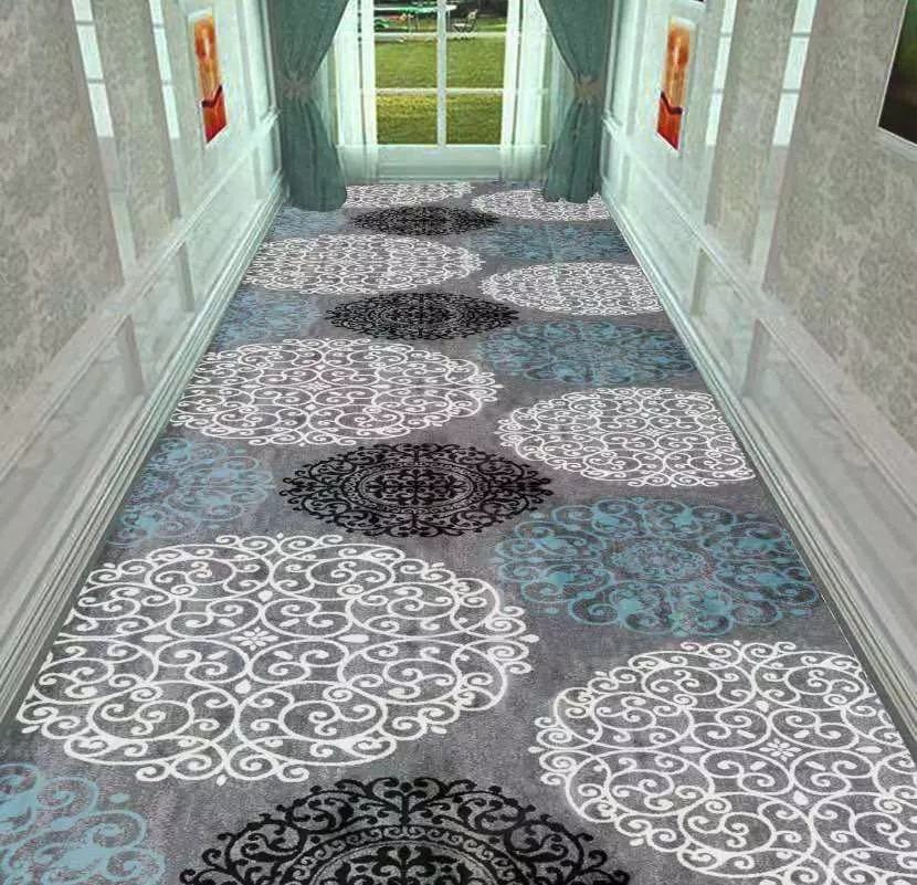 Good Quality High Grade Beautiful Hotel Hallways Flooring 100 % Wool Carpets