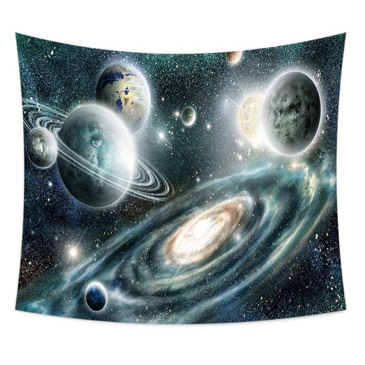 galactics universe modern wall tropical tapestry chair cover