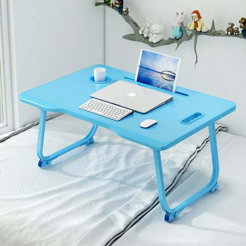 Dormitory curved Foldable Computer Lap bed reading Desk laptop table tray