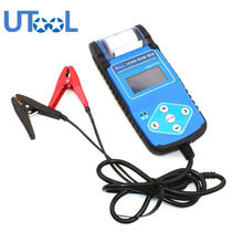 Car Battery Tester 12-24V Automotive Battery Analyzer with Printer