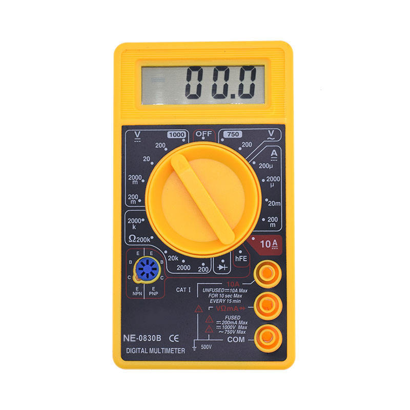 Popular 3-1/2LCD dt 830b digital multimeter with battery tester buzzer