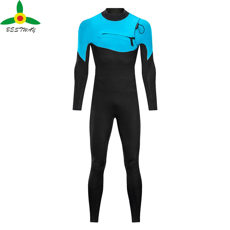 2021 Wetsuit Yamamoto 39 OEM Super Stretch Yamamoto Neoprene Diving Wet Suit Surfing Mens Chest Zip Wetsuit